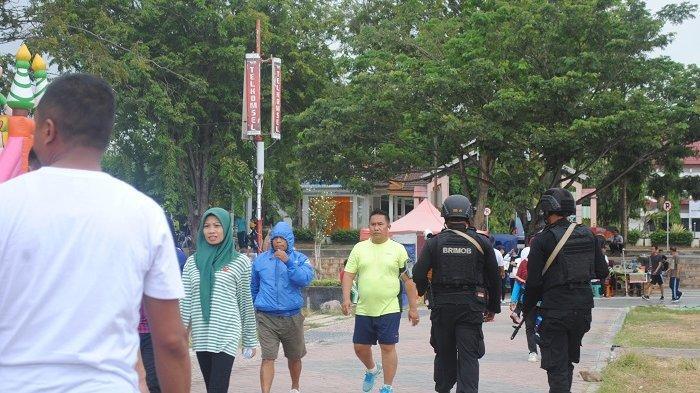 Wali Kota Palu Pastikan Kawasan Car Free Day Tetap Taat Prokes COVID-19