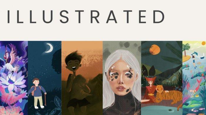 Kenalkan Seniman Muda, Chiarobytes Gelar Pameran Virtual Bertajuk 'Ilustrated'