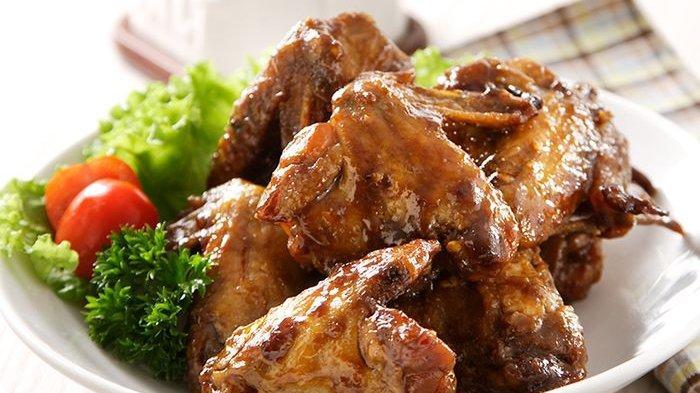 Cara membuat chicken wings rootbeer.