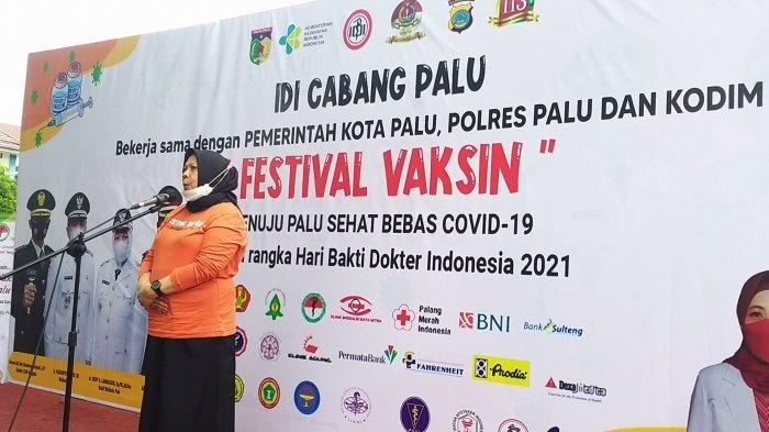 Ciptakan Kota Sehat Bebas Covid, Pemkot Palu Resmikan Festival Vaksinasi Selama 3 Hari