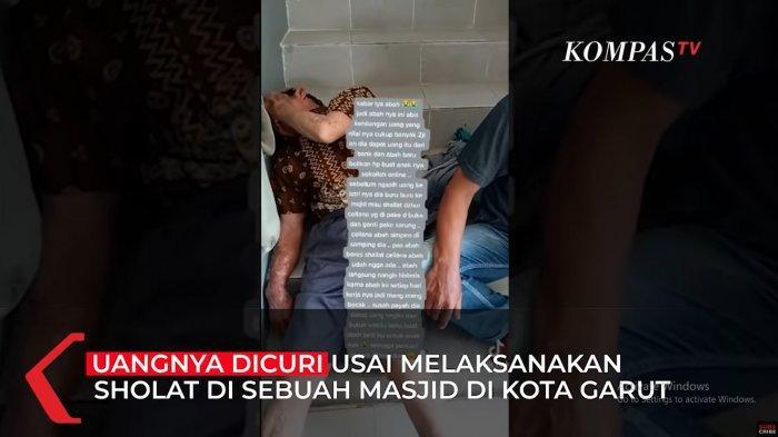 Viral Kakek Sopir Becak Menangis Histeris, Uang untuk Beli HP Anaknya Dicuri saat Salat di Masjid
