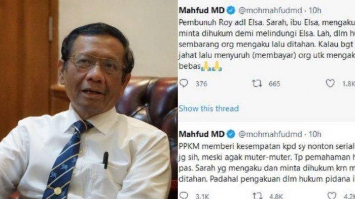 Ciutan Mahfud MD Soal Sinetron Ikatan Cinta Dibalas Sindiran Oleh Fadli ZonhinggaFahri Hamzah