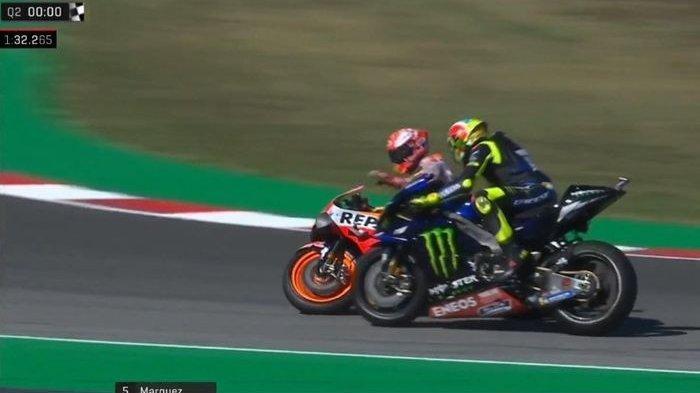 Hasil FP1 MotoGP Spanyol: Brad Binder Tercepat, Rossi Terlempar di Posisi ke-20, Marquez 10 Besar
