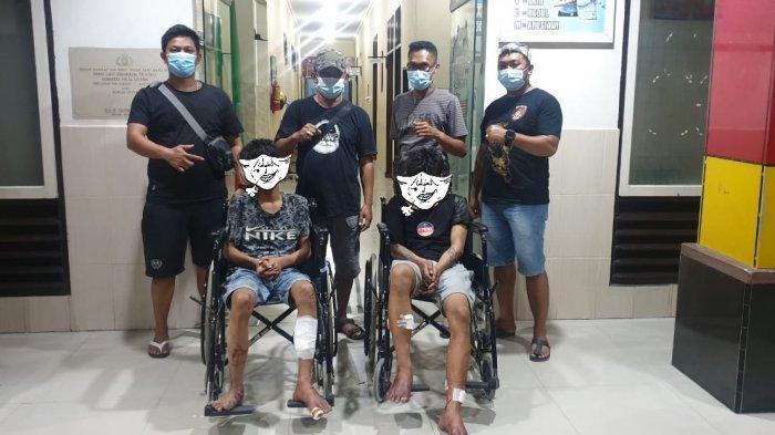 Empat Pelaku Curanmor di Kota Palu Tertangkap, Dua Dihadiahi Timah Panas