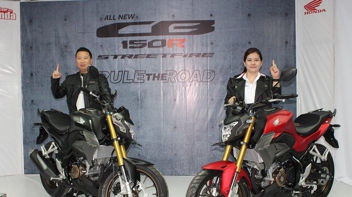 All New Honda CB150R Streetfire Resmi Mengaspal di Sulteng