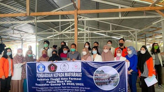 Bertajuk DAGUSIBU, Dosen STIFA Pelita Mas Palu Sosialisasikan Penggunaan Obat Diare di Desa Beka
