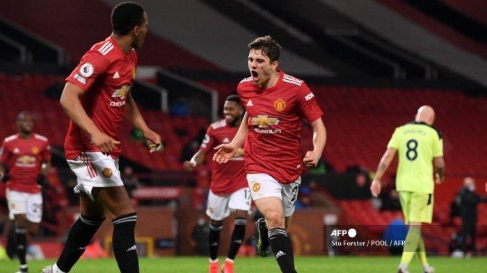 Winger Manchester United Daniel James dan Anthony Martial.