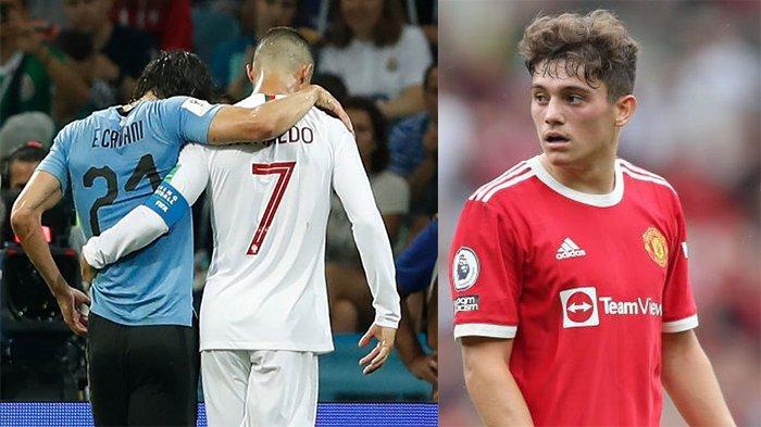 Efek Daniel James Tinggalkan Man United, Cavani Relakan Nomor 7 untuk Ronaldo