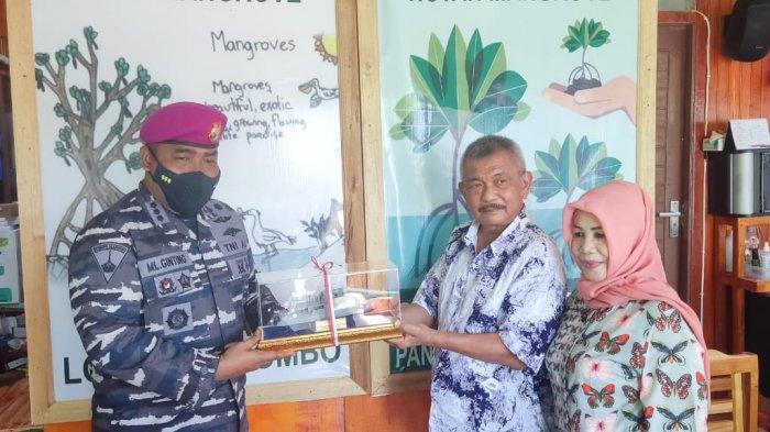 Persiapkan Kampung Bahari Nusantara, Danlanal Palu Datangi Bupati Parimo