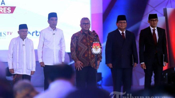Real Count KPU Pilpres 2019 Jumat,10 Mei 2019 pukul 22.00WIB,Jokowi vs Prabowo selisih 14 Juta Suara