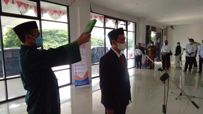 Prof Nurdin Jadi Dekan FKM Untad Periode Kedua, Rektor Minta Peningkatan Akreditasi