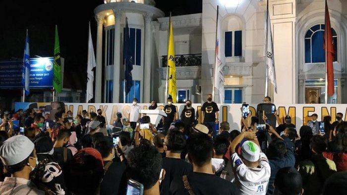 Unggul Versi Quick Count, Rusdi Mastura- Mamun Amir Deklarasi Kemenangan di Palu