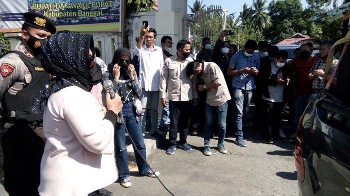 Demo Masyarakat Masama Tuntut Pemkab dan DPRD Banggai Tinjau Aktivitas Pertambangan Nikel