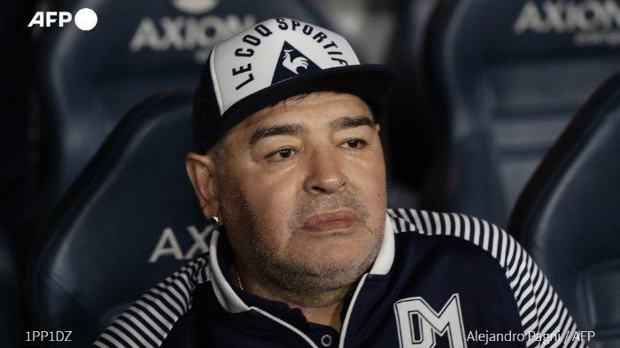 Foto Jenazah Diego Maradona di Dalam Peti Mati Beredar di Media Sosial, Pihak Keluarga Marah Besar