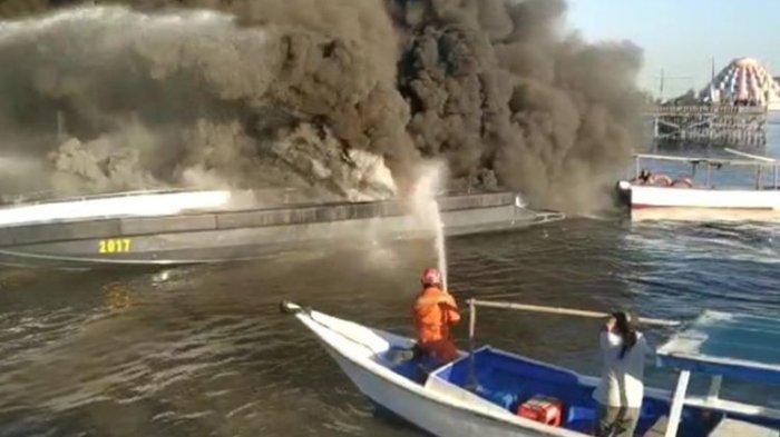 Kapal Patroli Polair Polda Sulawesi Selatan Meledak, Diduga karena Genset Rusak