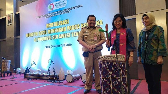 Dirjen IKMA RI Buka Kegiatan Revitalisasi Industri Menengah Pascabencana di Provinsi Sulawesi Tengah