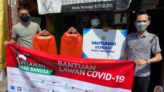 Bantu Warga selama PPKM, Persib Bandung Gelar Program Sauyunan kepada Masyarakat Terdampak