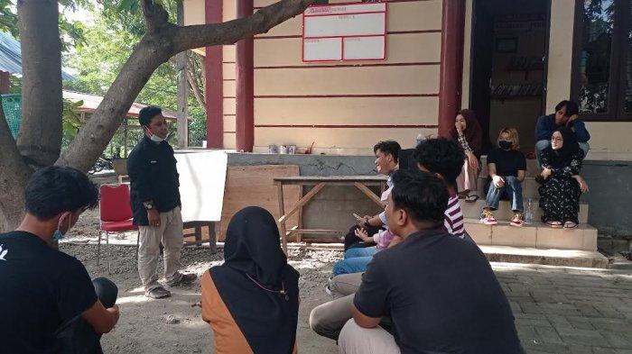 Diskusi, Pers Mahasiswa Fakultas Hukum Untad Bahas Peluang Jadi Wartawan