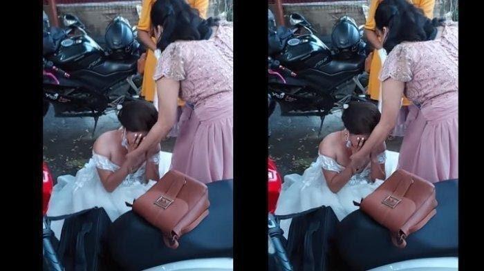 Heboh Video Pengantin Ditipu WO, Tangis Mempelai Wanita Pecah Saksikan Resepsi Tanpa Pelaminan