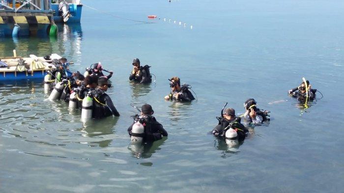 Pasca Seharian Menerima Materi, Hari Ini Calon Diving Action Praktek Menyelam