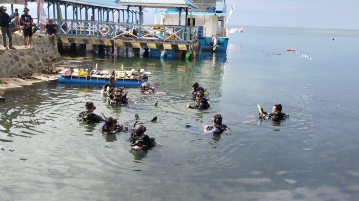 Berlanjut Hari Ketiga, Peserta Diving di Parimo Sudah Kuasai Open Water
