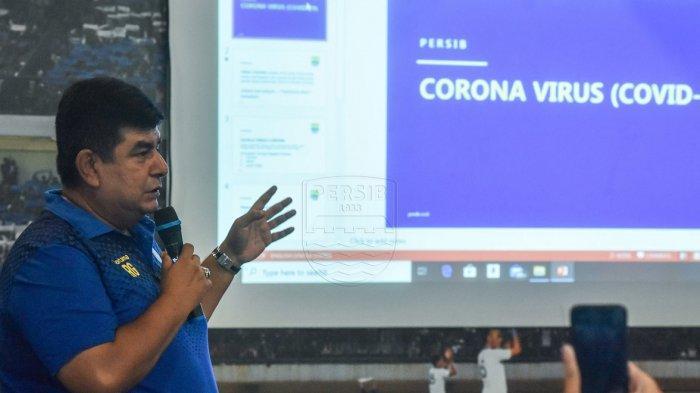 Persib Bandung Terapkan 2 Kebijakan Khusus Bagi Tim untuk Hadapi Ancaman Virus Corona