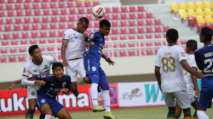 Hasil Piala Menpora 2021: PSIS Rajai Grup A Setelah Pesta Gol, Langkah Arema Makin Berat Usai Kalah