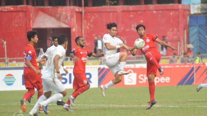 Hasil Liga 1: Sudah Lama Tak Menang, PSS Sleman Pesta Gol atas Badak Lampung