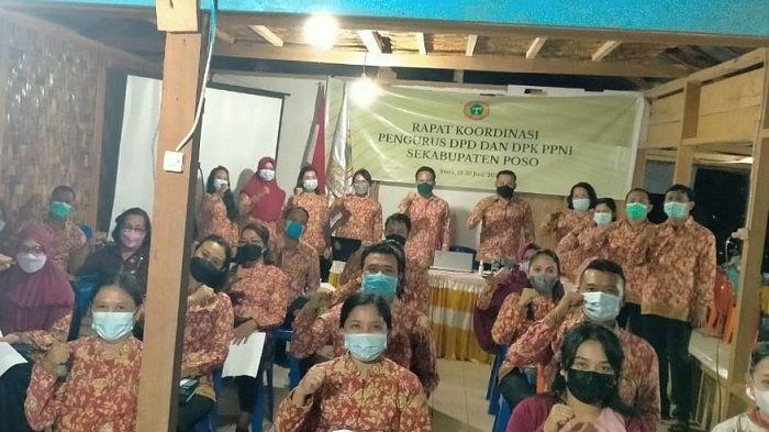 DPD dan DPK PPNI se-Kabupaten Poso mengikuti rakor