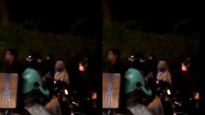 Viral Video Driver Ojol Bagi-bagikan Minuman kepada Mahasiswa Saat Demo, Banjir Pujian Warganet