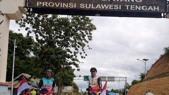 Dua Peserta Ekspedisi Gowes Gorontalo to Mekkah Tiba di Palu