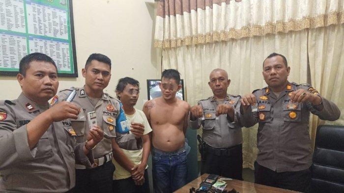 Diduga Terlibat Kasus Pencurian, Dua Pria di Kota Palu Dibekuk Polisi