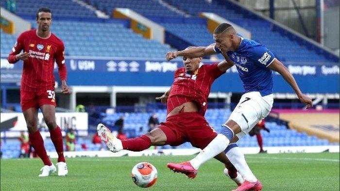 Jadwal Liga Inggris:Derbi Merseyside, Everton vs Liverpool, Duel Pemuncak Klasemen vs Juara Bertahan