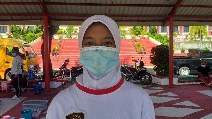 Profil Dwi Paskibra Donggala 2021, Pembawa Baki Merah Putih