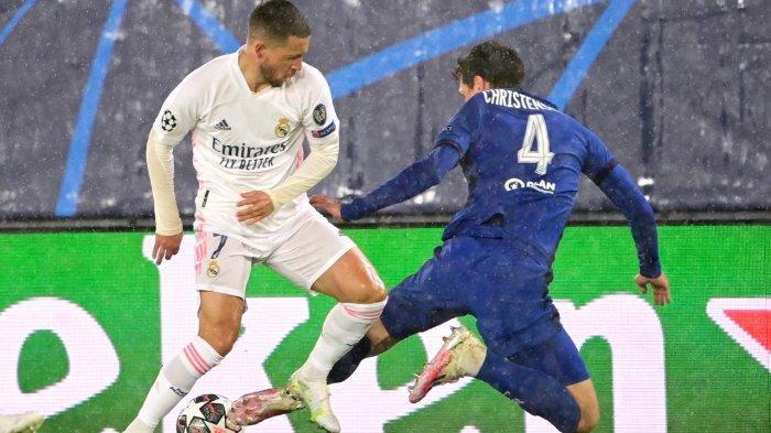 Hasil Liga Champions - Berjalan Alot, Real Madrid Ditahan Chelsea Imbang 1-1