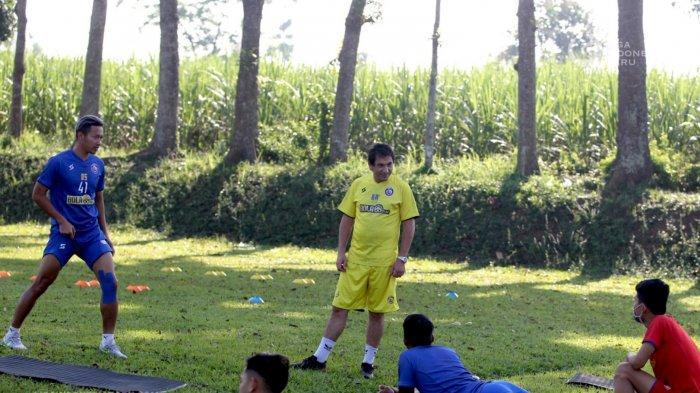 Kaget Jalani Latihan Intensitas Tinggi, 6 Pemain Arema FC Alami Cedera