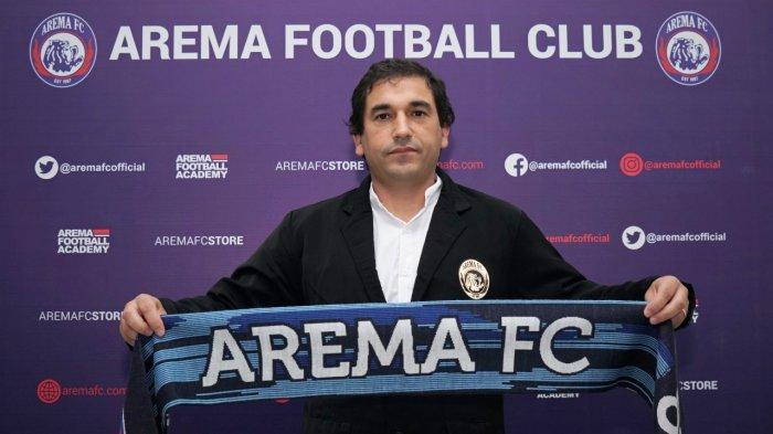 Jelang Kembalinya Liga 1, Arema Resmi Tunjuk Eduardo Almeida Jadi Pelatih Utama