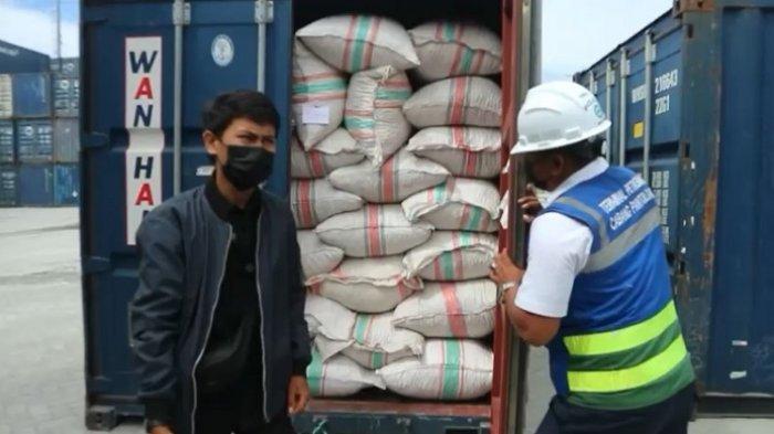 Rempah-rempah siap di ekspor Vietnam dan Tiongkok, Senin (29/3/2021).