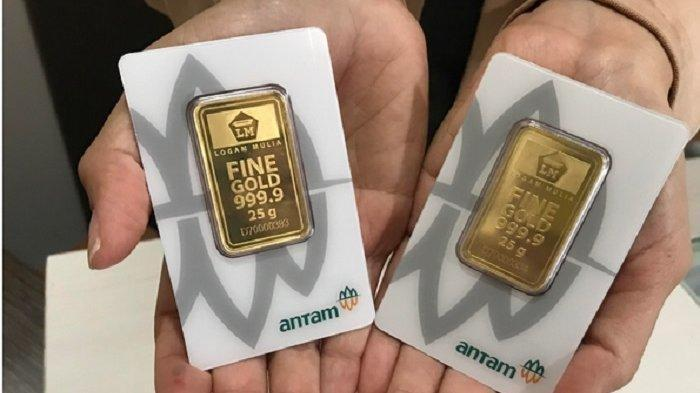 Update Harga Emas Antam Hari Ini, Per Gramnya Naik Rp 7 Ribu, Ini Rincian Harganya