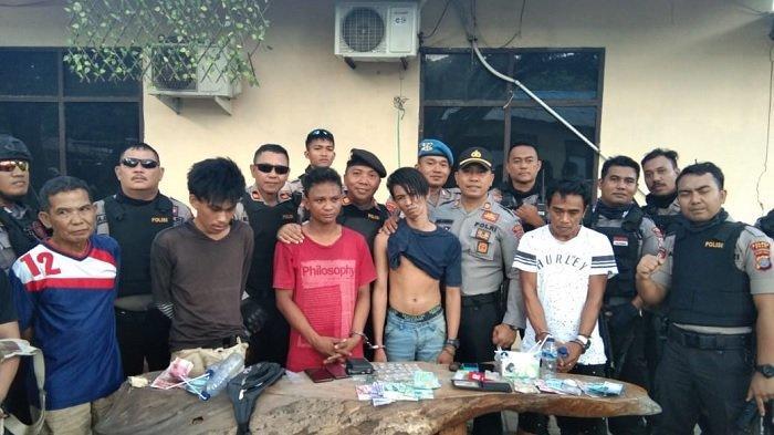 6 Terduga Penyalahguna Narkoba di Tatanga, Kota Palu Ditangkap Polisi