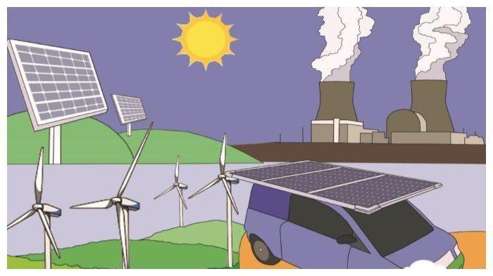 Pengertian, Macam-macam, Contoh hingga Manfaat Energi Alternatif, Materi Tematik Kelas 3 SD Tema 6