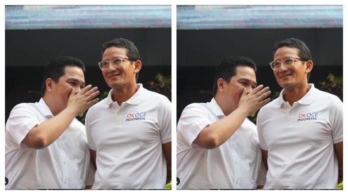 Ditantang Beri Kritik untuk Kinerja Erick Thohir Sebagai Menteri BUMN, Sandiaga Uno: Pintar Berdansa