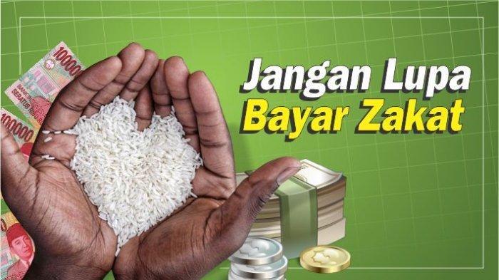 ILUSTRASI - Ajakan untuk membayar zakat fitrah di bulan Ramadhan