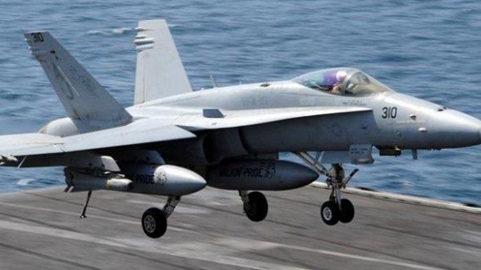 Pesawat Tempur Asing F-18 Hornet Lintasi Perairan Natuna, TNI AU Lakukan Penyelidikan