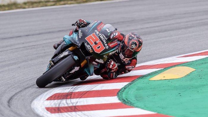 Hasil Tes Pramusim MotoGP 2020: Fabio Quartararo Tercepat, Rossi Melempem