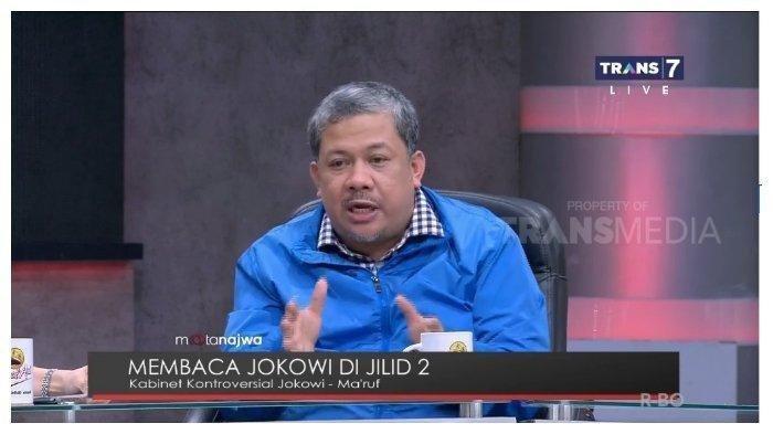 Fahri Hamzah Blak-blakkan Sebut Jokowi Presiden Kesepian, Ternyata Ini Alasannya