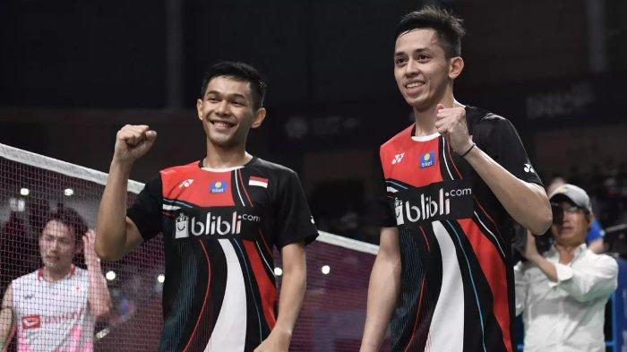 Update Hasil Sudirman Cup 2021: Fajar/Rian Buka Kemenangan Pertama, Kanada Tumbang dalam Dua Set