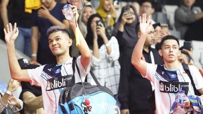 Link Live Streaming TVRI Toyota Thailand Open: 10 Wakil Berlaga, Diawali Fajar/Rian Pukul 09.45 WIB