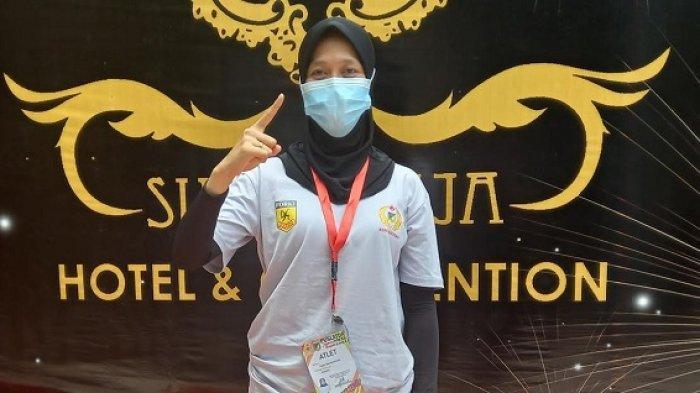 Wakili Sulteng di Cabor Karate Kumite PON Papua, Kenalkan Fania Dwi Maharani