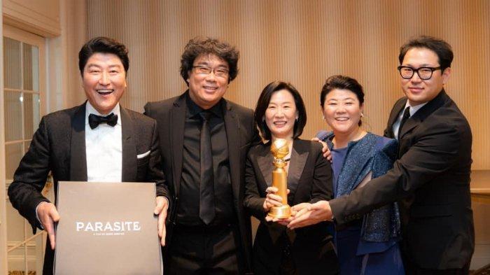 Cetak Sejarah, 'Parasite' Jadi Film Korea Pertama yang Raih Penghargaan Golden Globe Awards